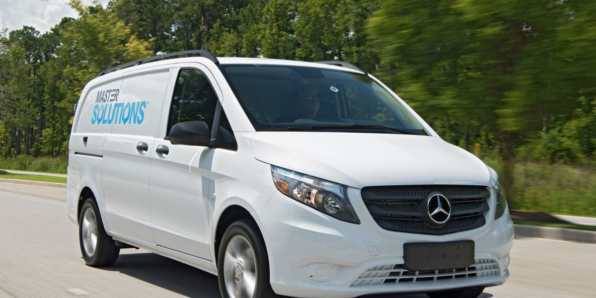 2016 Mercedes Benz Metris Cargo Van First Drive 8211 Review Car And Driver
