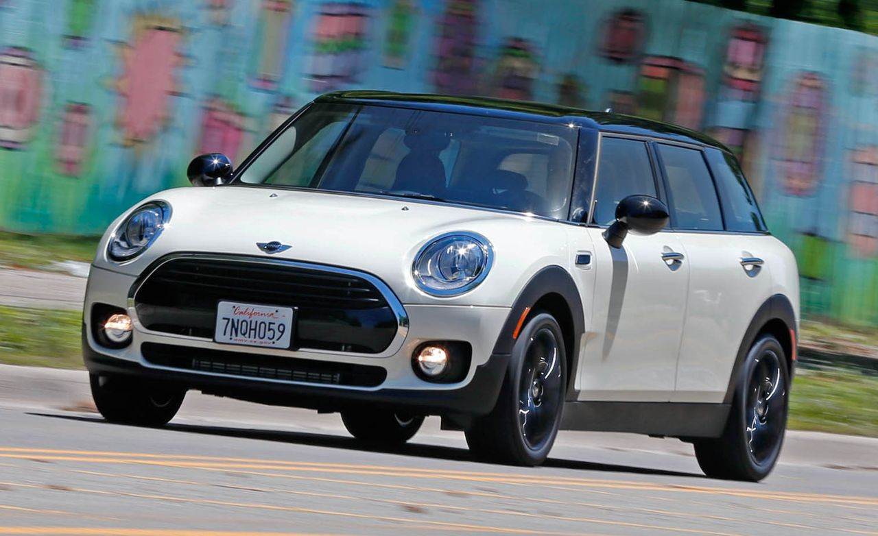 2016 Mini Cooper Clubman 1 5t Manual Test 8211 Review Car And Driver