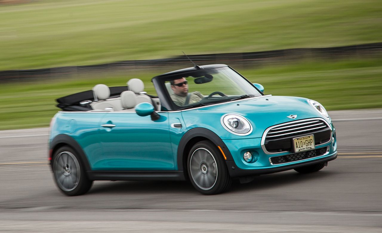 2016 Mini Cooper Convertible Automatic Test 8211 Review Car And Driver