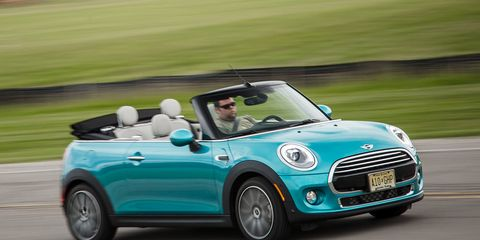 2016 Mini Cooper Convertible Automatic Test 8211 Review