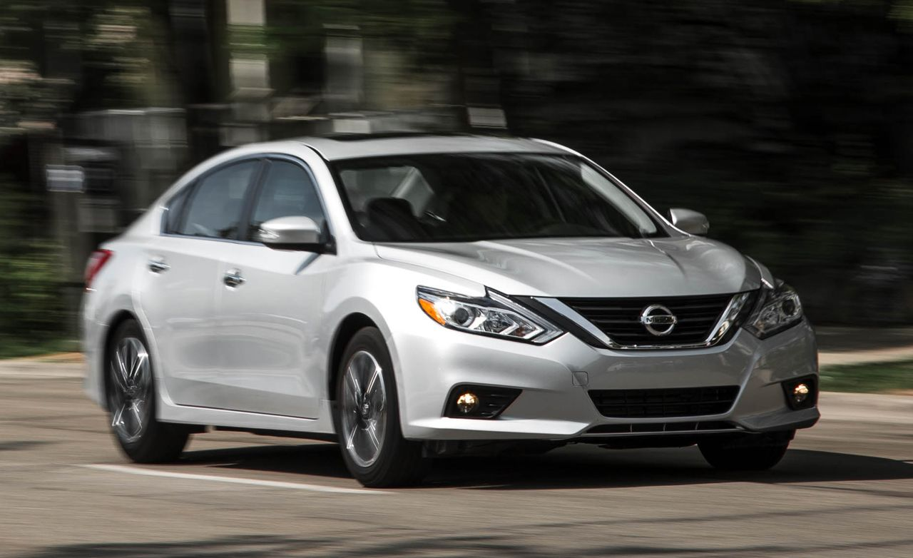 2016 Nissan Altima 2 5 Automatic Test 8211 Review Car And Driver