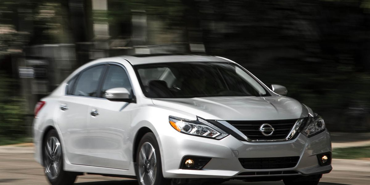 2016 Nissan Altima 2 5 Automatic Test 8211 Review 8211 Car And Driver