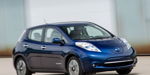 Image Michael Simari The Nissan Leaf