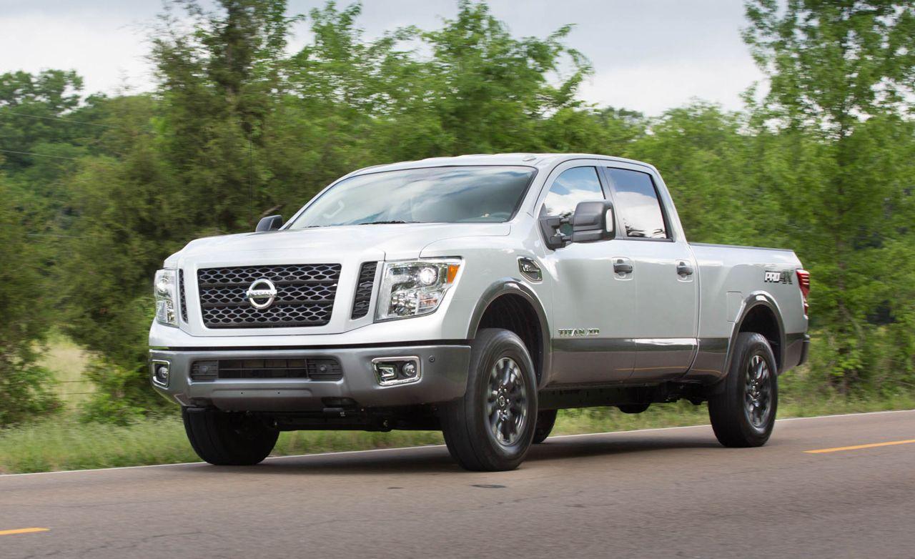 2016 Nissan Titan XD Gas V-8 First Drive –