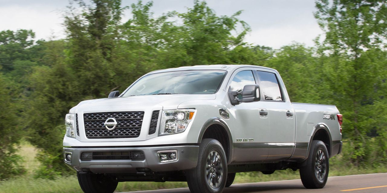 2016 Nissan Titan Xd Gas V 8 First Drive 8211 Review 8211 Car