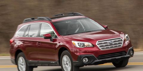 2016 Subaru Outback 8211 Review Car And Driver