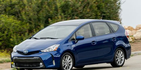 2016 Toyota Prius V 8211 Review 8211 Car And Driver