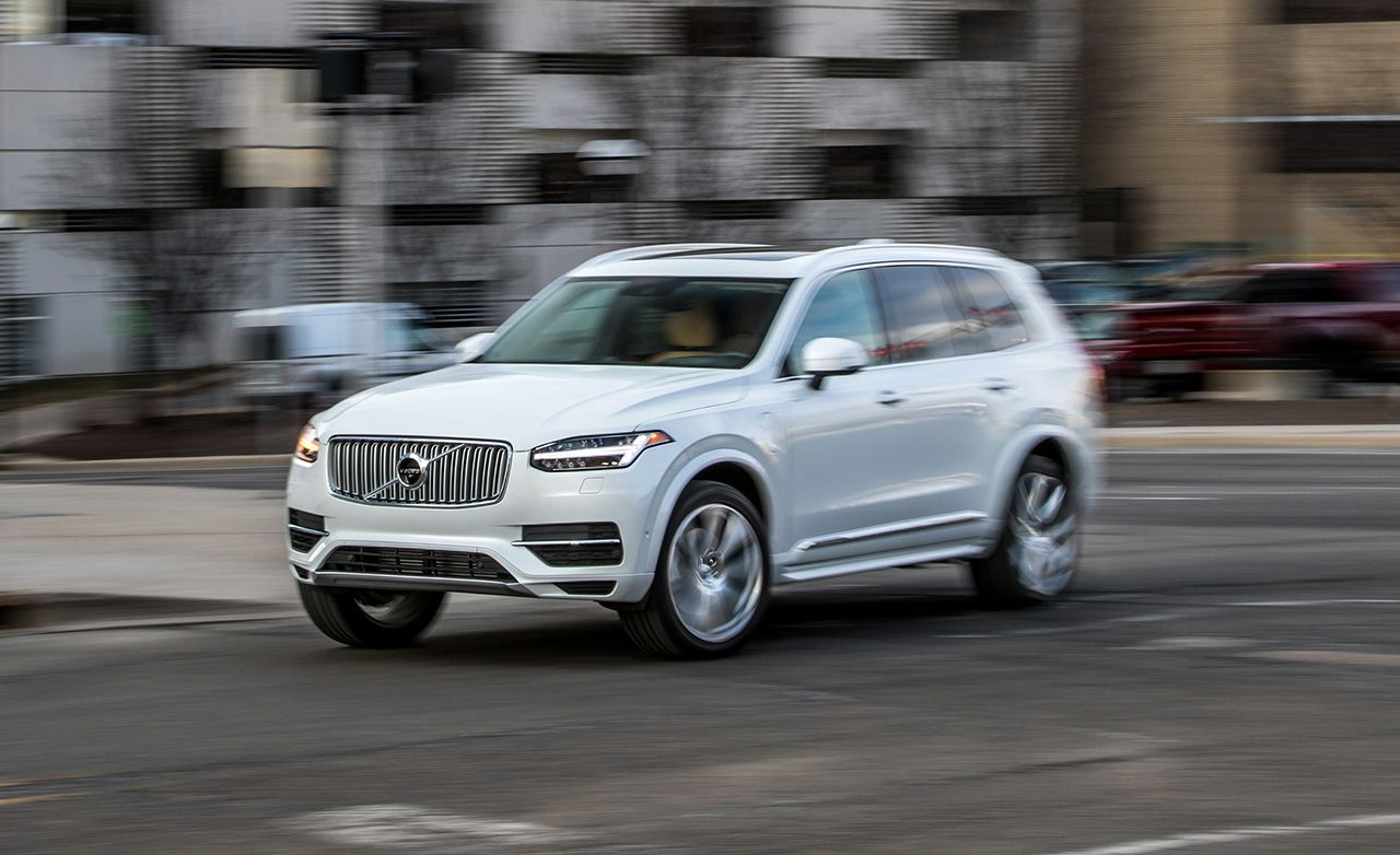 2016 Volvo Xc90 T8 Plug In Hybrid Test 8211 Review Car And Driver