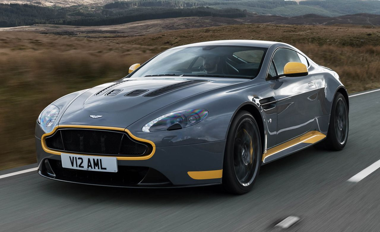 2017 Aston Martin V12 Vantage S Manual Drive 8211 Review 8211 Car And Driver