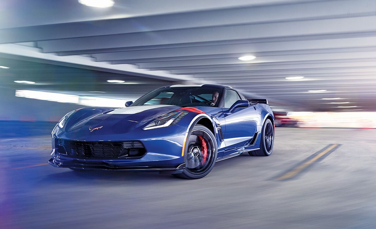 2017 Chevrolet Corvette Grand Sport First Drive 8211 Review Car And Driver