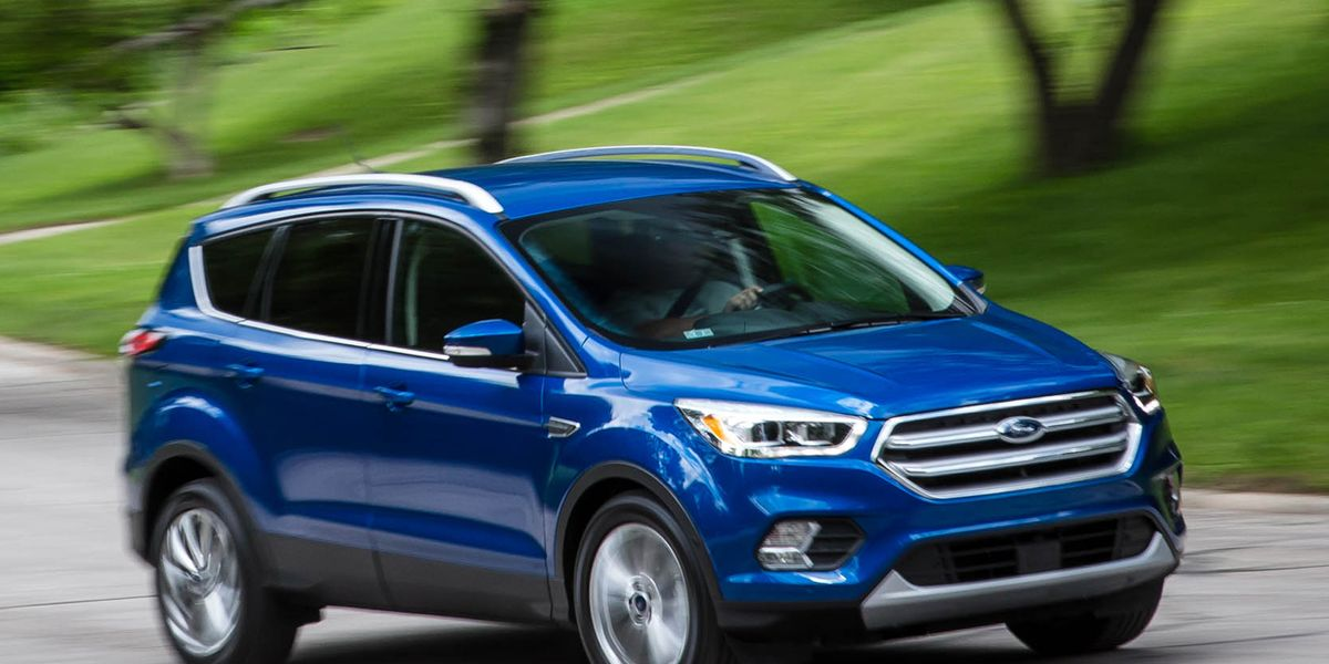 2017 Ford Escape 1 5l Ecoboost Fwd Test 8211 Review Car And Driver