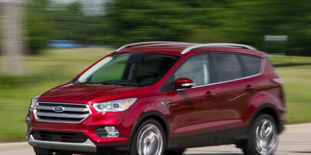 2017 Ford Escape 2 0l Ecoboost Awd Test 8211 Review Car And Driver