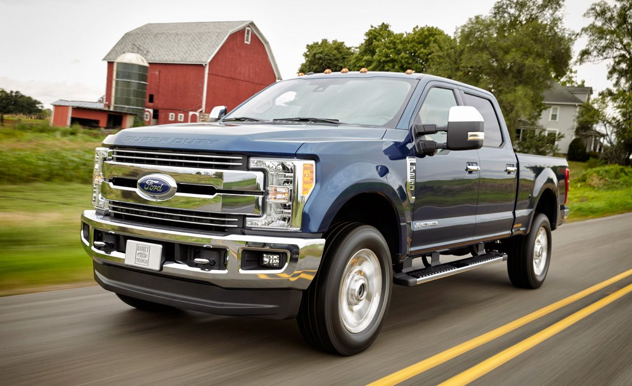 2017 Ford F Series Super Duty First Drive