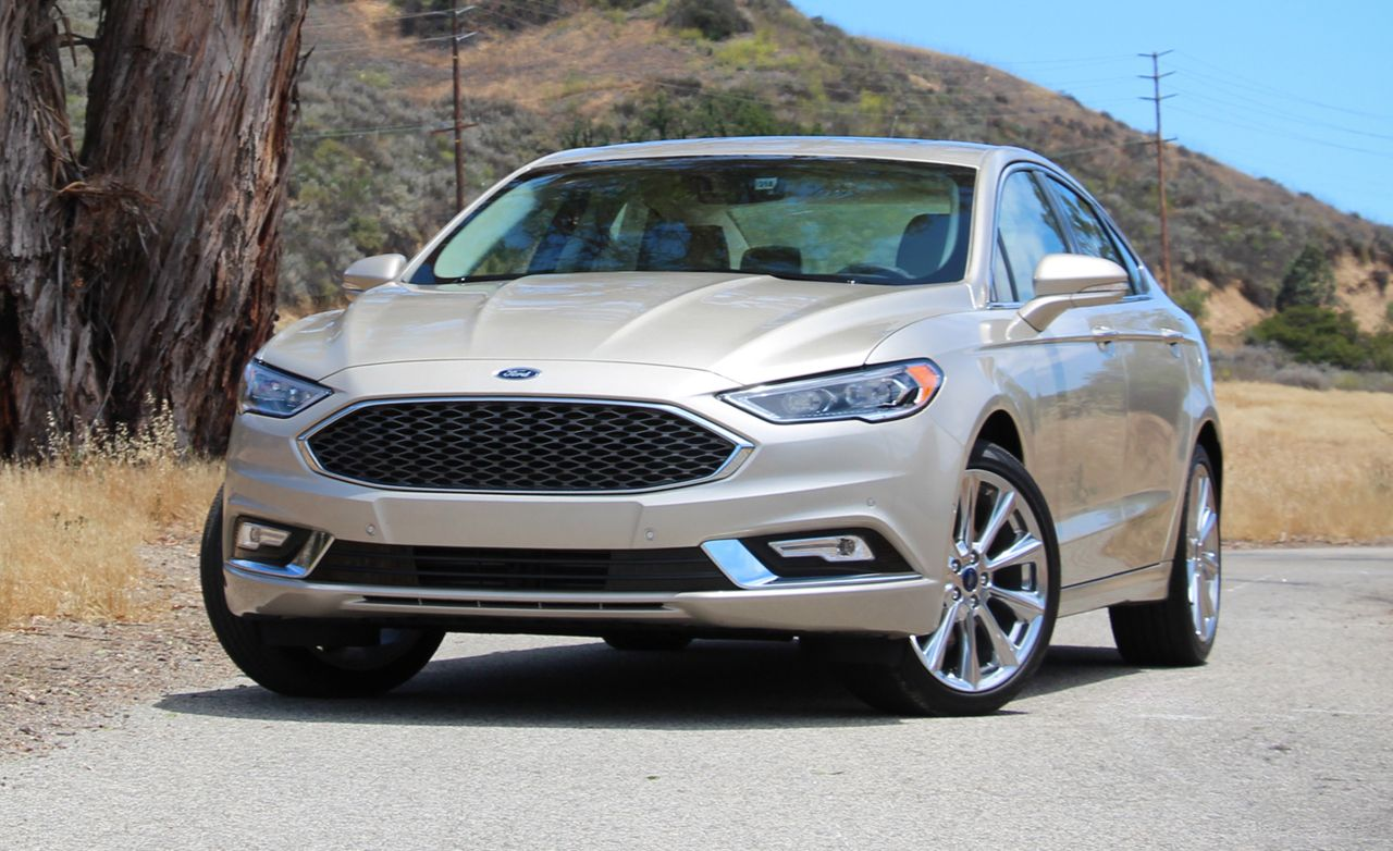 2017 Ford Fusion Platinum First Drive 8211 Review Car And Driver