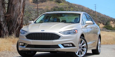 Ford Fusion Lease Deals >> 2017 Ford Fusion Platinum First Drive – Review – Car and Driver