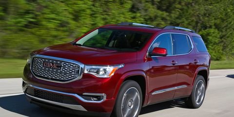 Remarkable 2017 Gmc Acadia First Drive 8211 Review 8211 Car And Short Links Chair Design For Home Short Linksinfo