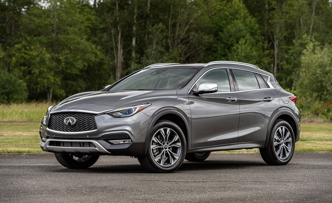2017 Infiniti Qx30 Instrumented Test 8211 Review Car And Driver