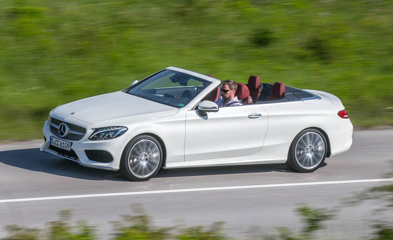 2017 Mercedes Benz C Cl Cabriolet First Drive 8211 Review Car And Driver