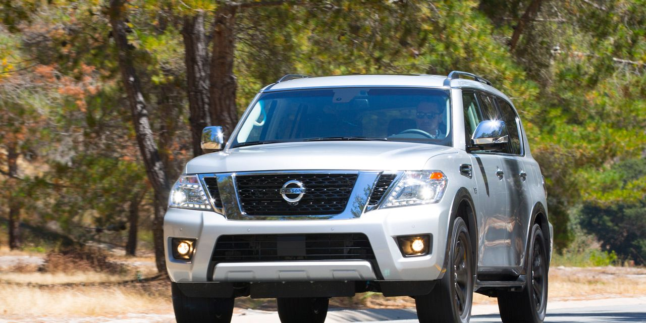 2017 Nissan Armada First Drive 8211 Review 8211 Car And Driver