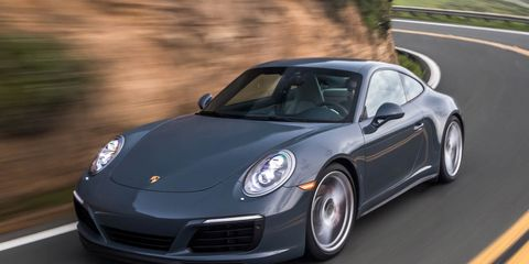 2017 Porsche 911 Carrera 4s Coupe First Drive 8211 Review