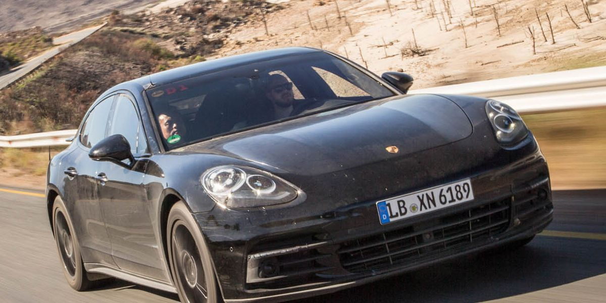 2017 Porsche Panamera Prototype Ride 8211 Review 8211 Car And Driver