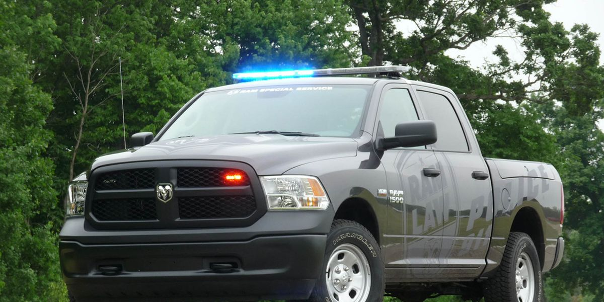 ram 1500 ssv police pickup truck full
