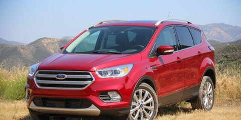 Refreshed 2017 Ford Escape First Drive 8211 Review 8211 Car And Driver