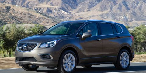 2017 Buick Envision Photos and Info – News – Car and Driver