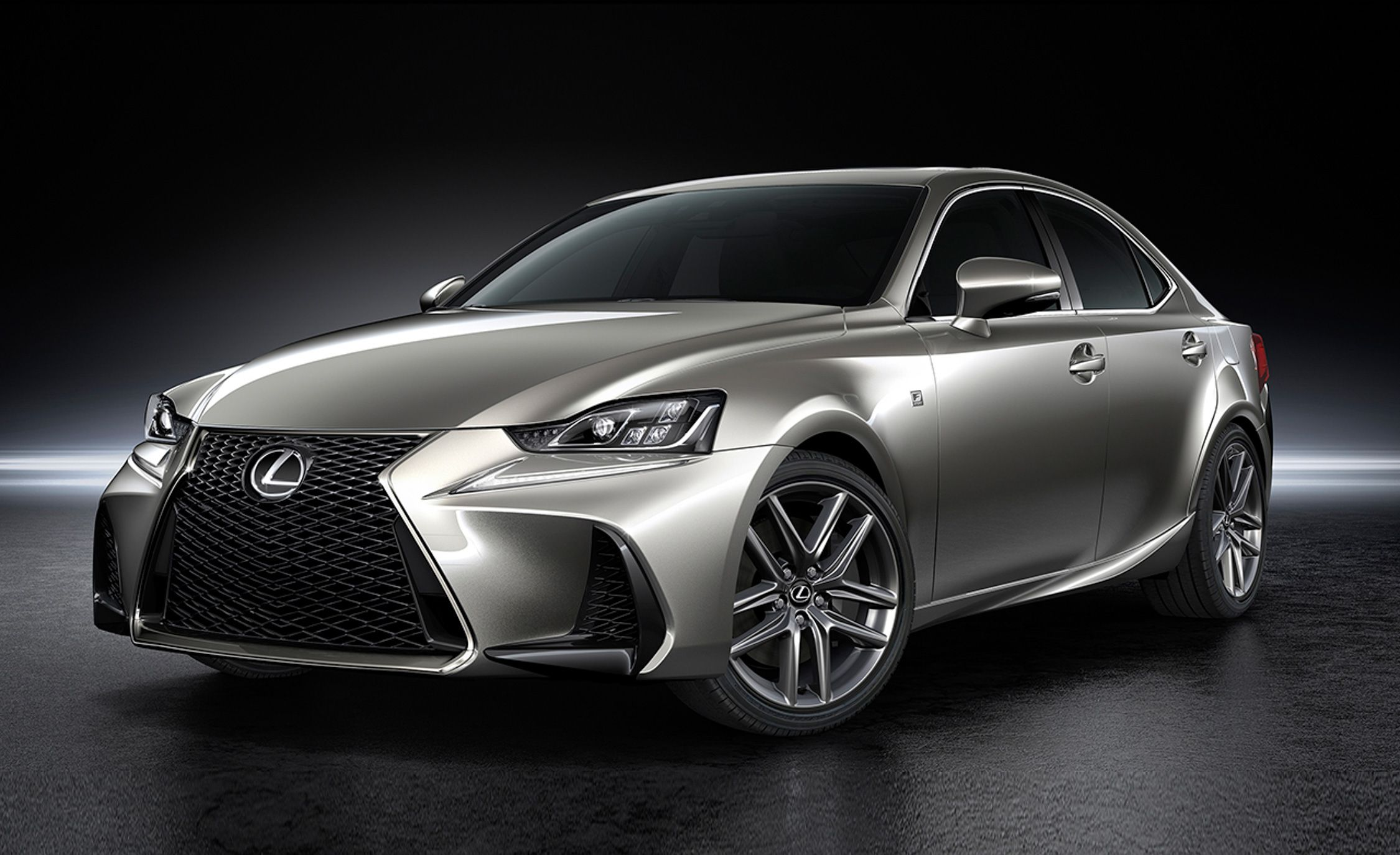 2017 Lexus Is Refreshed To Toe The Design Line