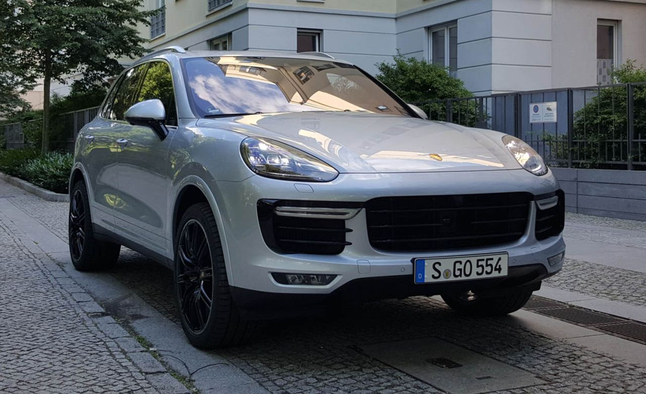2016 Porsche Cayenne Turbo S First Drive 8211 Review 8211 Car And Driver