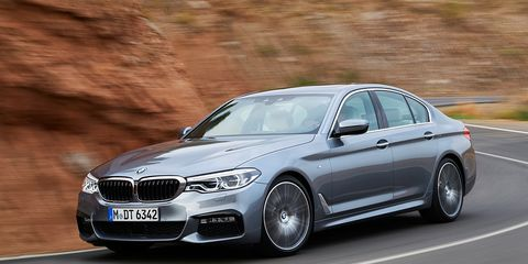 2017 Bmw 5 Series Revealed Tech Luxe
