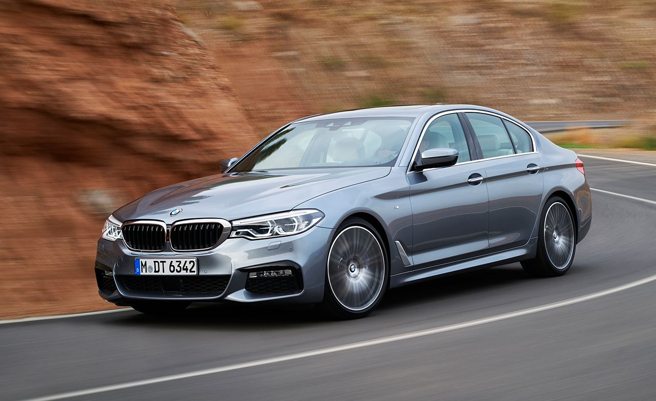 2017 Bmw 5 Series Official Photos And Info 8211 News 8211 Car And Driver