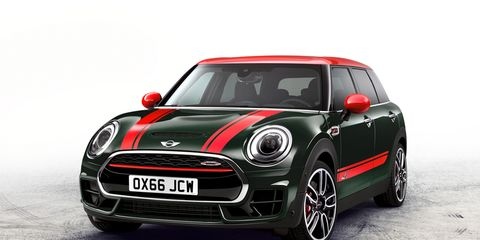 2017 Mini John Cooper Works Clubman All4 Photos And Info 8211