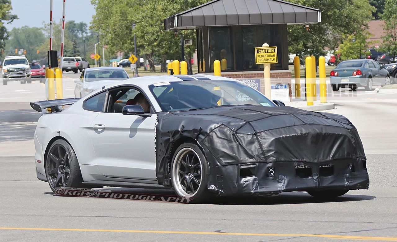 2018 Ford Mustang Shelby Gt500 Spy Photos