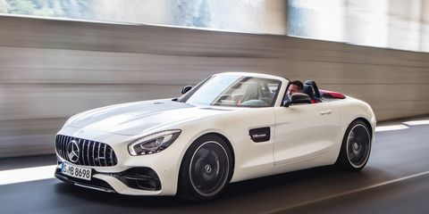 2018 Mercedes Amg Gt C Roadster S Its Top