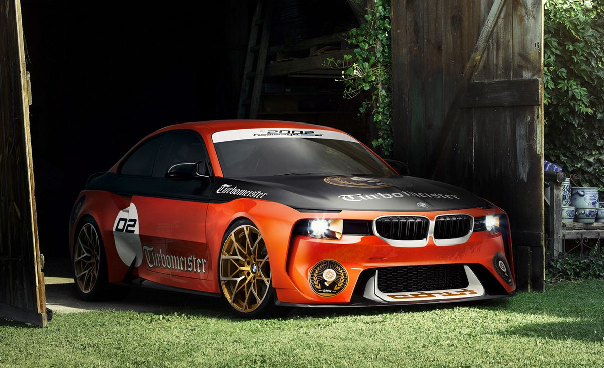 Bmw 2002 Hommage Concept Turbomeister Edition 8211 News 8211 Car And Driver