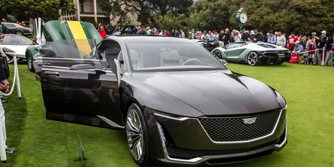 Cadillac Escala Concept It Ll Play Beyond Pebble Beach