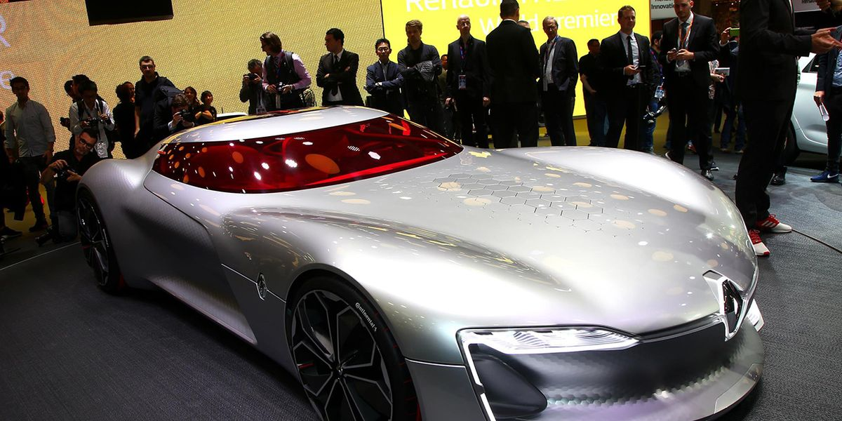 Uber Lease Car >> Renault Trezor Concept Official Photos and Info – News ...