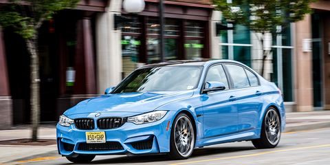 2016 Bmw M3 Sedan Dct Competition Package Test 8211 Review 8211
