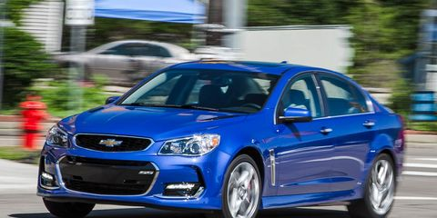 chevy ss manual test