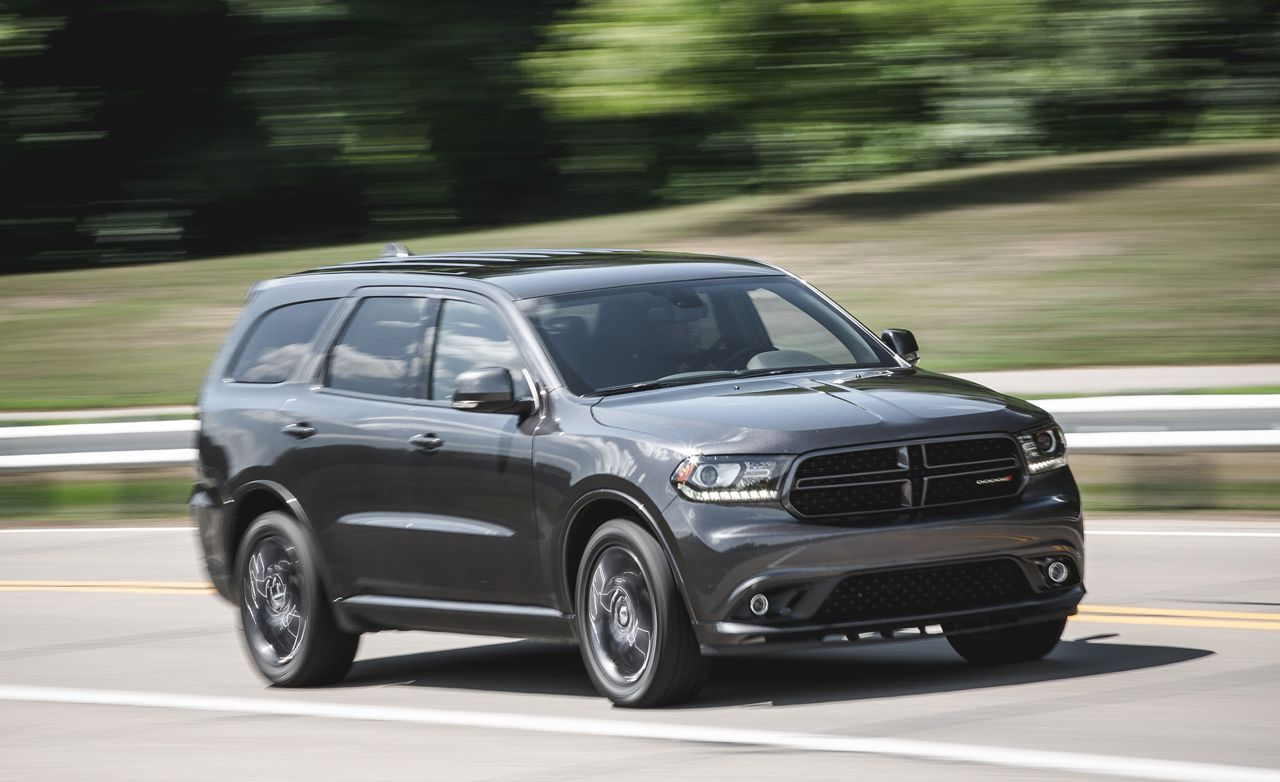 2016 Dodge Durango R T Awd Test 8211 Review 8211 Car And Driver