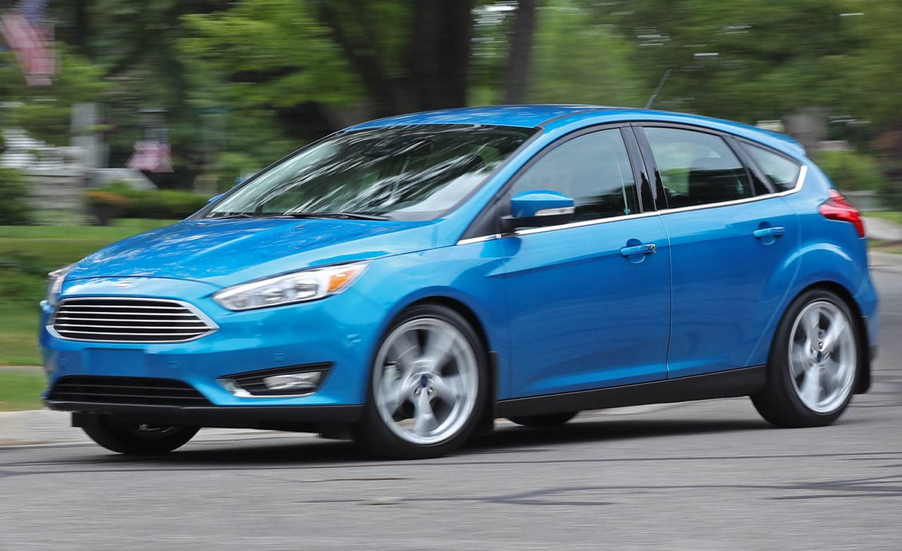 2016 Ford Focus 2 0l Automatic Hatchback