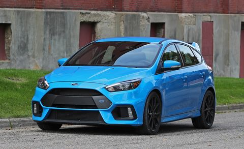 2016 Ford Focus Rs Tested With Michelin Pilot Sport Cup 2 Tires