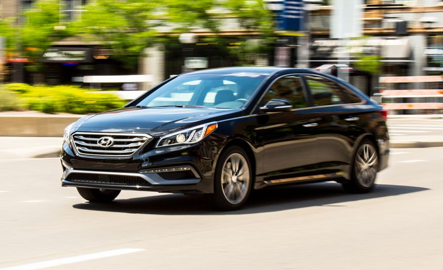 2016 Hyundai Sonata Sport 2 0t Tested 8211 Review Car And Driver