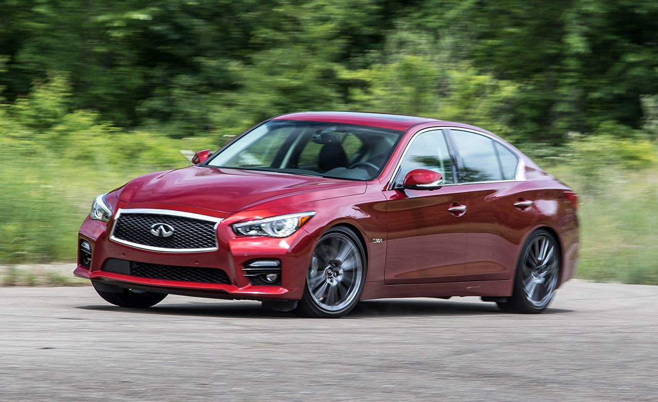 2016 Infiniti Q50s 3 0t Red Sport 400 Test 8211 Review Car And Driver