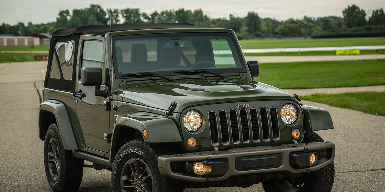 2016 Jeep Wrangler 75th Anniversary Edition Test 8211 Review