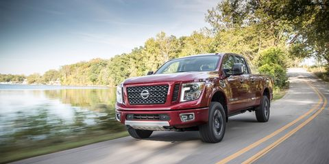 Nissan Diesel Truck >> 2016 Nissan Titan Xd Long Term Test Review Car And Driver