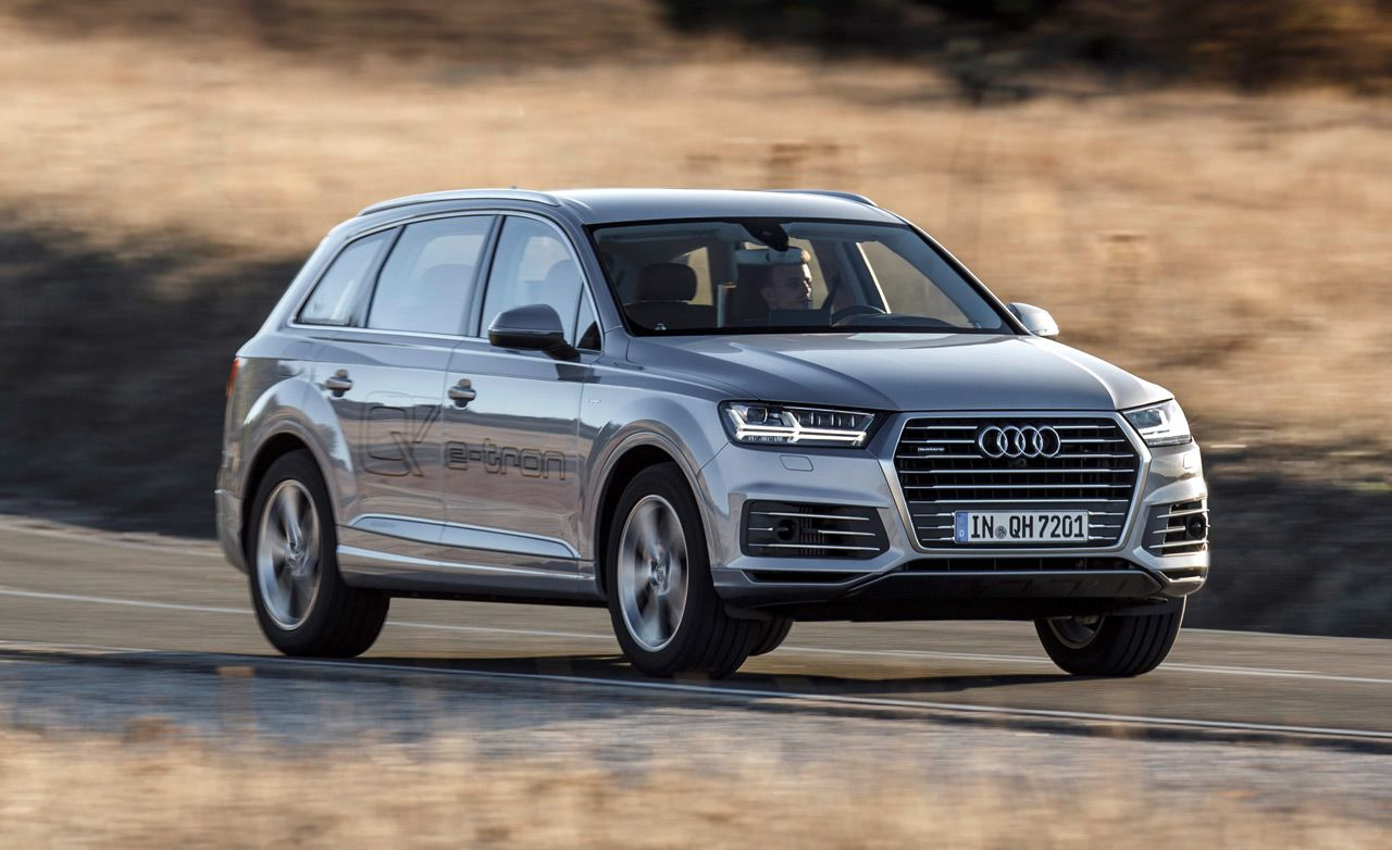 2017 Audi Q7 E Tron Tdi Plug In Hybrid First Drive 8211 Review Car And Driver