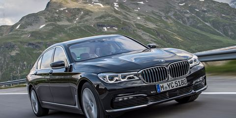 2017 BMW 740e Plug-In Hybrid First Drive –