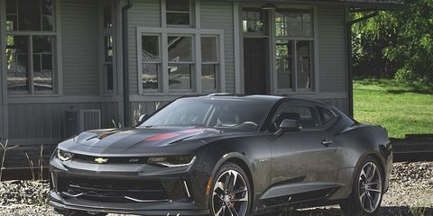 2017 Chevrolet Camaro 8211 Review Car And Driver